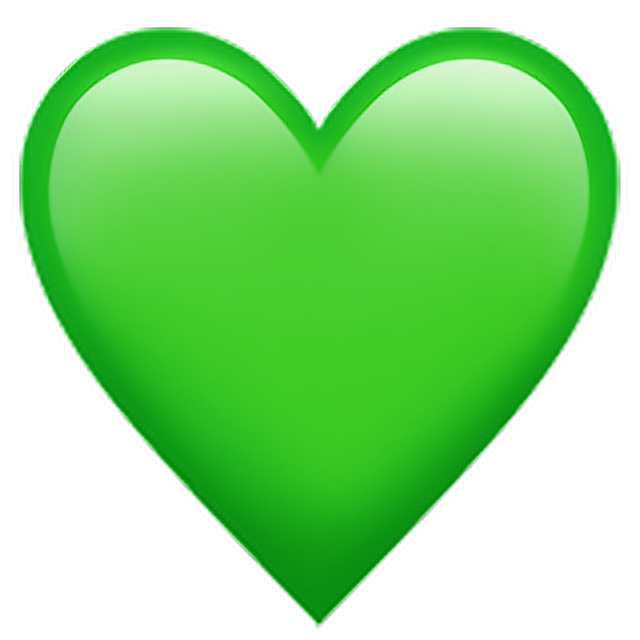 Зелёное сердце
