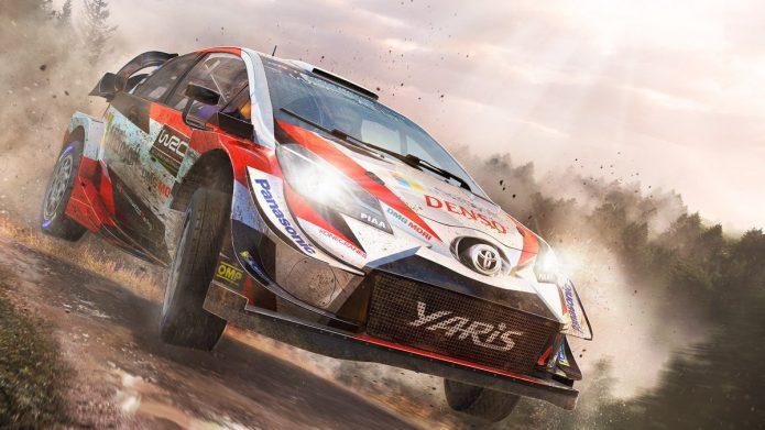 Киберсоревнования в WRC 8