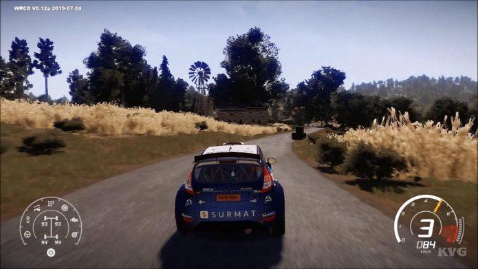 Геймплей WRC 8