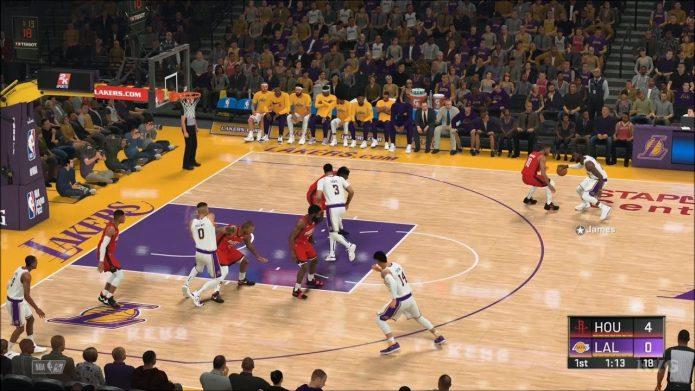 Игровое поле NBA 2K20