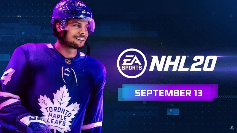 Готовьтесь выйти на лёд со звёздами Национальной хоккейной лиги: состоялся релиз новейшейNHL 20