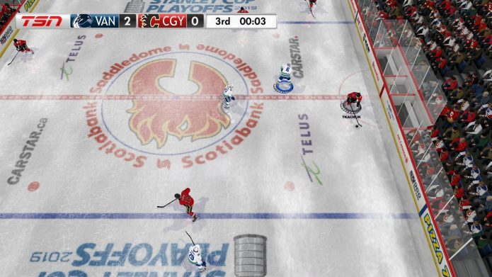 Матч НХЛ 20