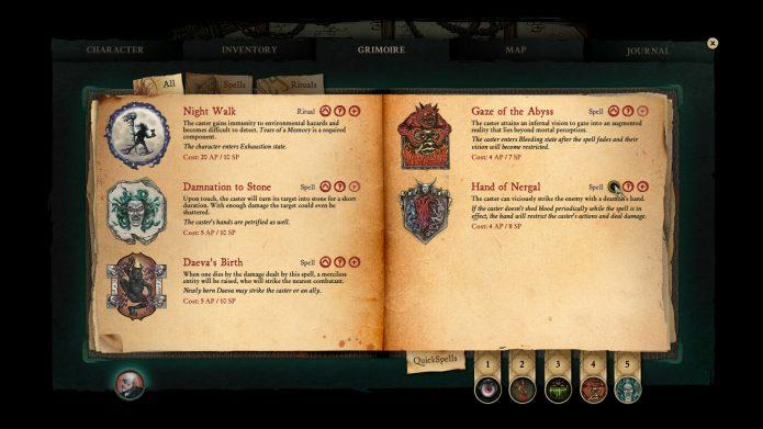Книга магии в Stygian: Reign of the Old Ones