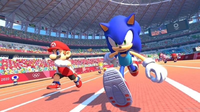 Марио против СуперСоника: вышел свежий трейлерMario & Sonic at the Olympic Games Tokyo 2020