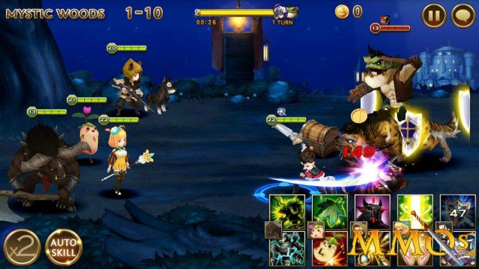 Геймплей Seven knights