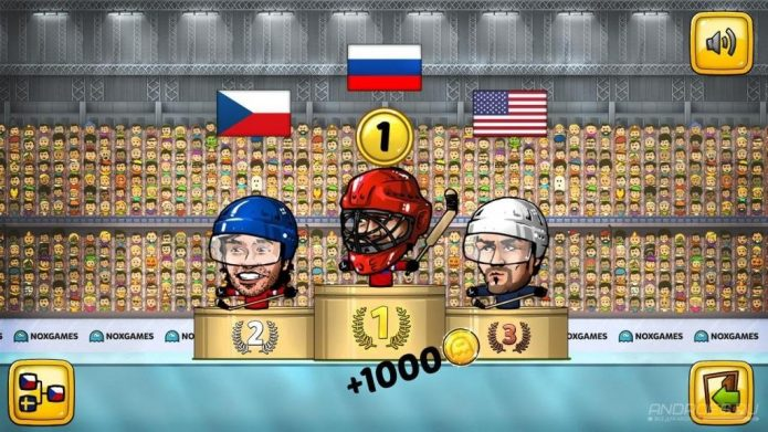 Победы Puppet ice hockey 2014