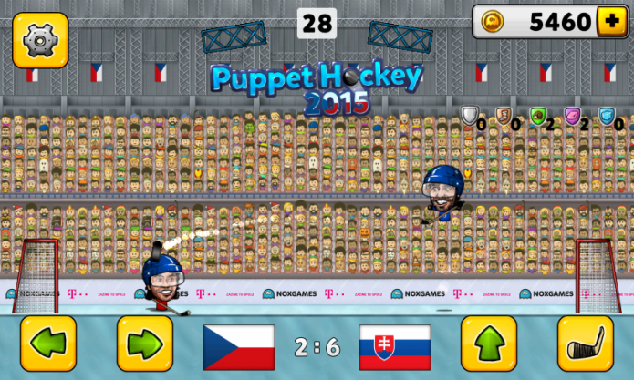 Puppet ice hockey 2014
